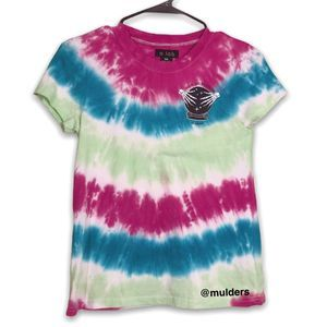 Zumiez a.lab striped tie dye shirt